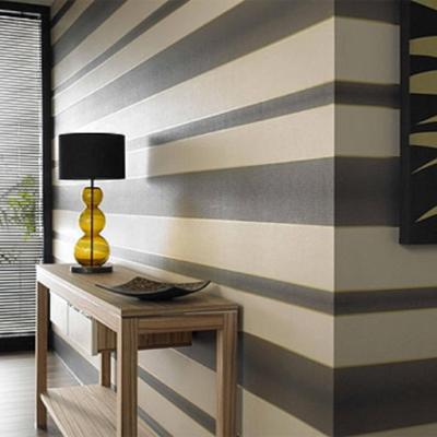 Horizontal Stripes, Created by MJ Harwood painters and decorators Leeds.